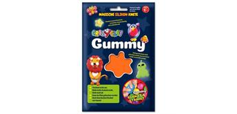 CrazyClay Gummy Einzelfarben Basic orange