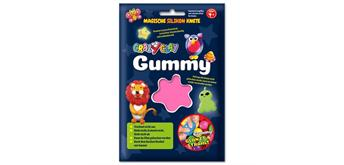 CrazyClay Gummy Einzelfarben Basic rosa