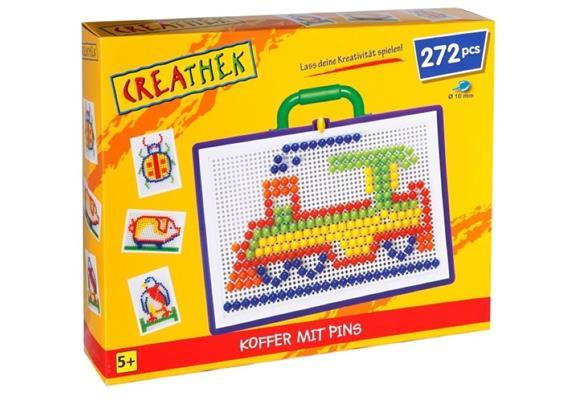Creathek Koffer mit 272 Pins, Ø 10 mm