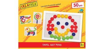 Creathek Steckplatte mit 50 Pins Ø 20 mm