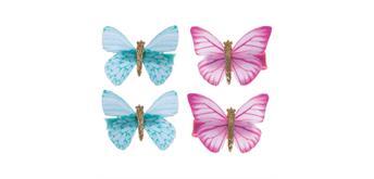 Creative Education Haarclips Butterfly Wishes assortiert