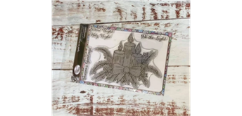 "Crystal Art A5 Stamp ""Christmas Candle"""