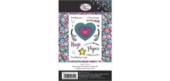 "Crystal Art A5 Stamp ""Paper Hugs"""