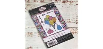 "Crystal Art A6 Stamp ""Birthday Ballons"""