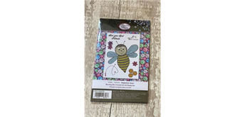 """Crystal Art A6 Stamp """"Buzzing Bee"""""""