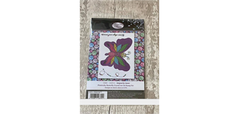 """Crystal Art A6 Stamp """"Flutterby Butterfly"""""""
