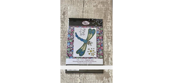 "Crystal Art A6 Stamp ""Glistening Dragonfly"""