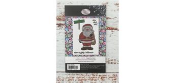 "Crystal Art A6 Stamp ""Jolly Santa"""
