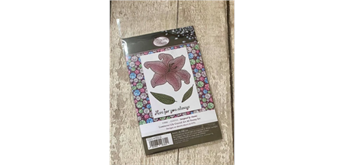 """Crystal Art A6 Stamp """"Luminous Lily"""""""