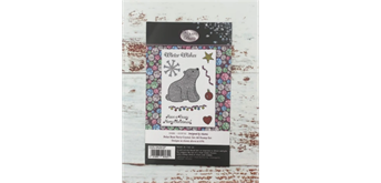 "Crystal Art A6 Stamp ""Polar Bear Party"""