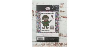 "Crystal Art A6 Stamp ""Santa's Little Helper"""