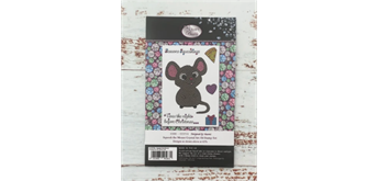 """Crystal Art A6 Stamp """"Squeak the Mouse"""""""