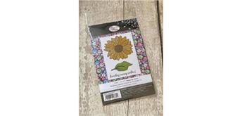 "Crystal Art A6 Stamp ""Sunflower Sparkle"""