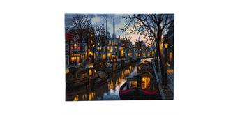 "Crystal Art ""Canal Life"" Kit, 40 x 50 cm"