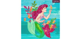 Crystal Art Card Ariel 18 x 18 cm