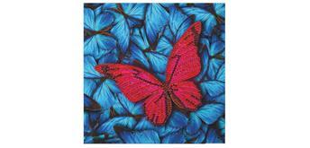 "Crystal Art Card Kit ""Butterfly"" 18 x 18 cm"