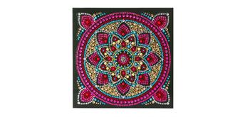 """Crystal Art Card Kit """"Mandala"""" 18 x 18 cm"""