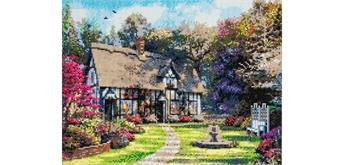 "Crystal Art ""Country Cottage"" Kit, 40 x 50 cm"