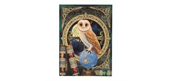 "Crystal Art Giant Card Kit ""Spell Keeper Owl"" 21 x 29 cm"