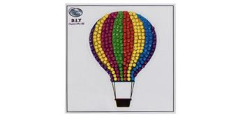 "Crystal Art ""Hot Air Balloon"" Motif mit Werkzeug"
