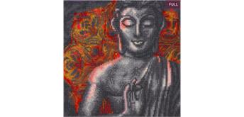 "Crystal Art Kit ""Beautiful Buddha"" 30 x 30 cm, mit Rahmen"