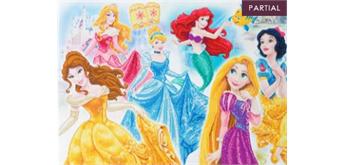 "Crystal Art Kit ""Disney Princess Medley"" 90 x 65 cm, mit Rahmen"