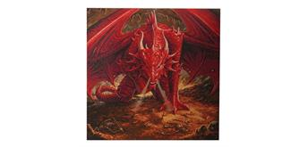 "Crystal Art Kit ""Dragons Lair"" Anne Stokes, 70 x 70 cm, mit Rahmen"