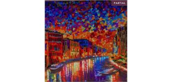 "Crystal Art Kit ""Grand Canal Venice"" 30 x 30 cm, mit Rahmen"