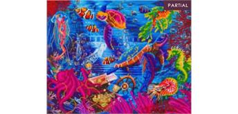 "Crystal Art Kit ""Sea Life"" 40 x 50 cm, mit Rahmen"