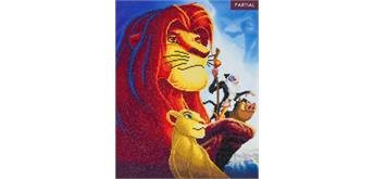 "Crystal Art Kit ""The Lion King Medley"", 40 x 50 cm, mit Rahmen"