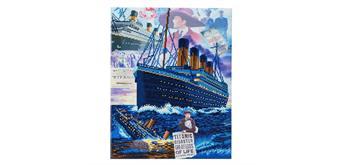 """Crystal Art Kit """"Titanic: versunkene Träume"""" 40 x 50 cm, mit Rahmen"""