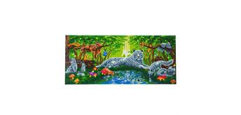 """Crystal Art """"Meeting in the Forest""""Kit, 40 x 90 cm"""