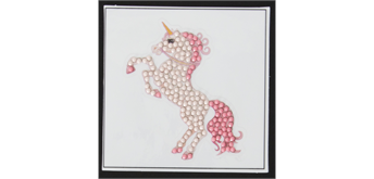 "Crystal Art Motif ""Fairytale Unicorn"""