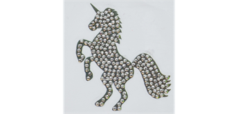 "Crystal Art Motif Kit ""Unicorn"" with tool"