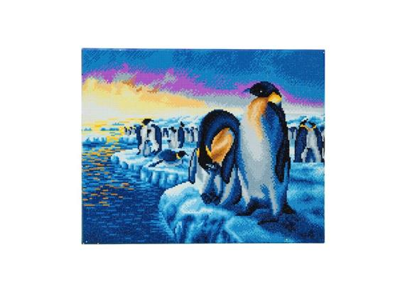 Crystal Art Penguins of the Arctic Kit, 40 x 50 cm