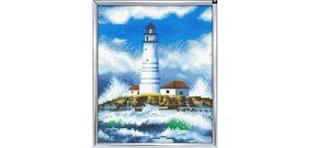 "Crystal Art ""The Lighthouse"" Bilderrahmen 21 x 25 cm"