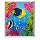 "Crystal Art ""Tropical Fish"" Bilderrahmen 21 x 25 cm"