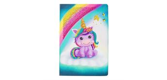 "Crystal Art ""Unicorn Smile"" Notizbuch Kit, 26 x 18 cm"