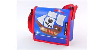 cwirbelwind Kindergartentasche Piratenschiff Glitzer