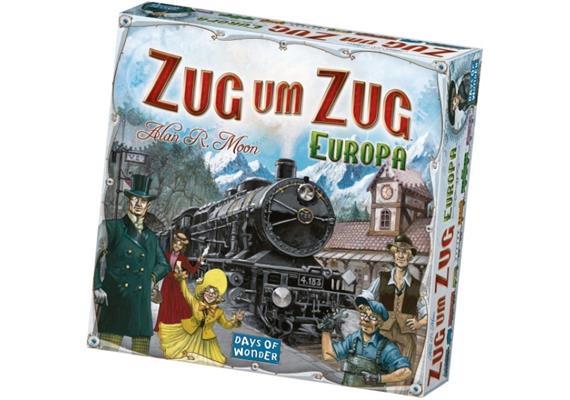 Days of Wonder - Zug um Zug - Europa