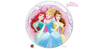 Deco Bubble Ø 56 cm Prinzessinen, ohne Füllung