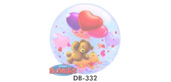 Deco Bubble Ø 56 cm, Teddy Love, ohne Füllung