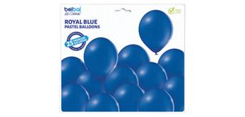 Deko-Rundballons Ø 33 cm, königsblau, 25er Pack