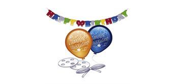 Deko-Set Happy Birthday