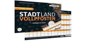 Denkriesen - Stadt Land Vollpfosten - Classic Edition - Intelligenz ist relativ