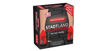 Denkriesen - Stadt Land Vollpfosten: Das Kartenspiel - Rotlicht Edition