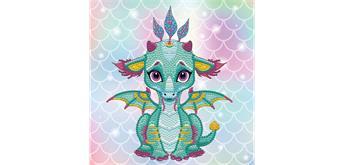 Diamond Dotz BOX Ariel the Baby Dragon 22 x 22 x 2.5 cm