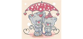 Diamond Dotz BOX Its raining love 28 x 28 x 2.5 cm