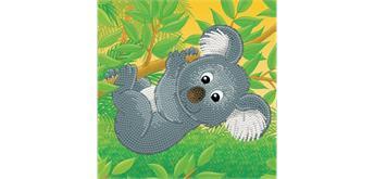 Diamond Dotz BOX Koala climb 22 x 22 x 2.5 cm