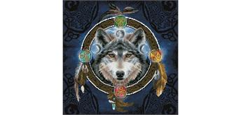 Diamond Dotz Celtic Wolf Guide 51.5 x 51.5 cm